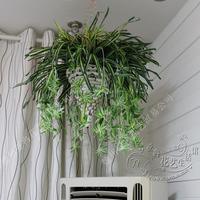 Artificial chlorophytum  orchids artificial rattan wall flower silk flower artificial flower Orchid Bracketplant Spider plants
