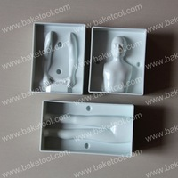 Free shipping,Plastic Male Body Mold,Cake Decorating Tools,Cake Molds
