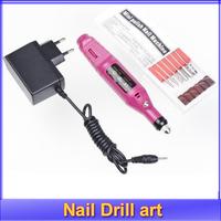 1pcs Pen Shape Electric Nail Drill Machine Art Salon Manicure File Polish Tool kit+6 Bits wholesale