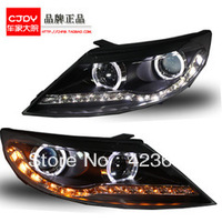 KIA SPRORTAGE ANGEL EYES HEAD LAMPS/ LED HEAD LIGHTS FOR 2010-2013 / HID XENON LIGHT / FASHIONAL HEAD LIGHTS /TANLUZE