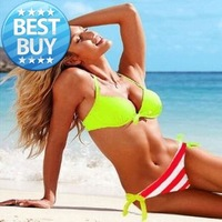 Bikini sexy triangle swimwear split women's swimwear hot-selling