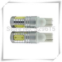 free shipping 10pcs 2013 new arrival auto light car lamp T10 7.5w car led bulb led wedge bulb 194 168 192 W5W lamp 12V