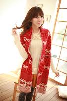 In 2013 women rural popular very long wool knitting scarf  free shipping