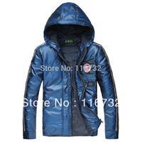 Free shipping 2014 brand dirk bikkembergs Mens Hooded Jackets BIKK coat sports warm Down European and American fashion coat
