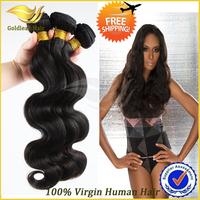 Free Shipping 3pcs lot  Mix Size Wholesale Malaysian Virgin Hair Body Wave hair 100g/Pcs  Grade 5A Human Hair Weave