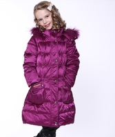 New 2014 autumn -summer winter children clothing down coat  girls outerwear like reima windproof waterproof , free shipping