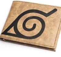 Free shipping   Naruto kakashi MuYe village god domain genuine man purse