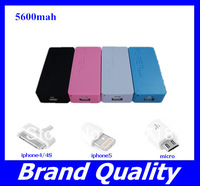 5600mAh Perfume USB External Backup Battery Power Bank 18650 Battery Charger iPhone Galaxy S4 PSP