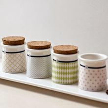 Free shipping New 2014 Zakka IKEA hat shaped ceramic storage bottle/condiment bottle/corks bottle/hot gifts/Home decoration(China (Mainland))