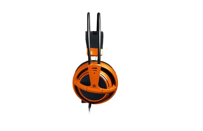 Gaming Headset Headphones Steelseries Siberia v2 Full size Orange Original with Original Box Dota 2 Consumer