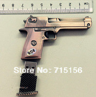 U Disk pen drive metal gun 4gb/8gb/16gb/32gb bulk usb flash drive flash memory stick pendrive mini free shipping