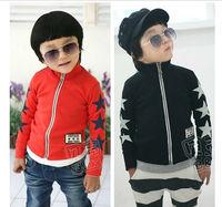 New Hot Children Sweatshirt Fleece  Fit 3-7Yrs Girls Boy Kids Cotton Long Sleeve Thick Coat Baby Clothing Free Shipping Retail