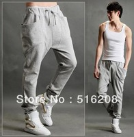 Free shipping New Men's Women's Cool Harem Pants Casual Sports Pants Trousers Wholesale or Retail size M L XL 2XL