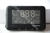 ,Universal Car HUD Head Up Display, ActiSafety, ASH 3, Speed / RPM / Water Temp / Fuel Consumption Speed / OBDII