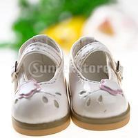 Free Shipping 1/6 BJD Doll Shoes Boots Fit Yo-SD DOD LUTS - White