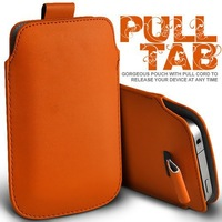 Hot sales 20pcs/lot  PULL TAB PU LEATHER POUCH CASE FOR Apple IPOD TOUCH 5, Free shipping
