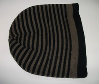 The autumn winter fashion men's knitted cap Warm wool hat 4 Color Retail Free shipping.