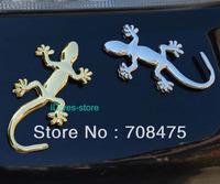 1PCS Brand New Golden/Silver 3D Quattro Emblem Car Sticker Metal Vehicle Decoration Paster