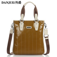 2013 luxury first layer of cowhide male commercial handbag shoulder bag genuine leather man bag