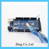 Promotion Sale! ATMega2560 1PCS Mega2560 ATmega2560-16AU Board + 1PCS USB Cable NEW mega 2560
