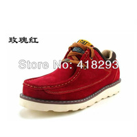 Free shipping women mens winter warm riding boots shoes male female genuine leather ankle fashion boots