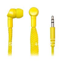 New design High quality shoelace waterproof earphone in retail package