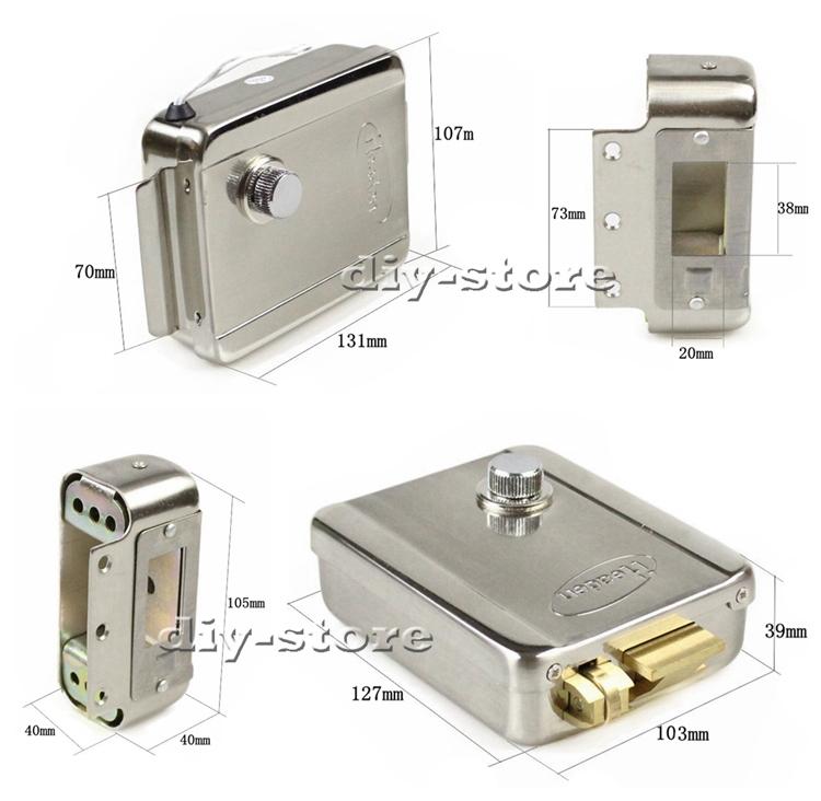diy remote control rfid keypad door access control security system kit electronic door lock. Black Bedroom Furniture Sets. Home Design Ideas
