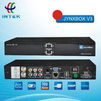 High Quality Jynxbox Ultra HD V3 TV Receiver Free JB200 8PSK Module + Wifi+Dongle for North America