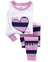 Spring /autumn New style Children Pyjamas ,100% cotton baby pajamas set, Children Sleepwear, 6set /lot +Free shipping