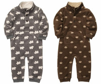 2013 New arrival Carter's Newborn Baby Sleep&Play Romper Bodysuit Spring Fall zipper Style Jumpsuit Infant Overalls