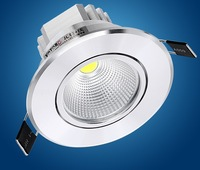 Free shipping Led downlight cob dimmable 10W LED Spot light  ceiling lamp  warm white/Nature white/cool white