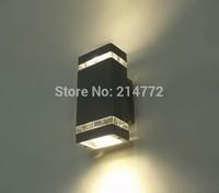 New Arrival 1 pcs/lot LED Waterproof Outdoor Wall Light 8w IP65 Aluminum Lamp