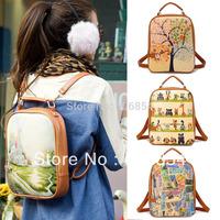 Retro Korean Style Fashion Girls Handbag Student Backpacks School Bag