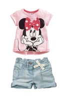 Free shipping, retails, kids clothes set,girls T shirt + pants, kids outerwear,  1set/lot--JYS105