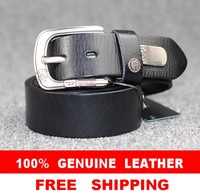 100% Genuine Leather New 2014  Men Vintage Belt Brand Name Punk Rivet Man Hip hop Metal Male Wide Strap Cinto Ceinture  MBT0049