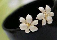 Min order  (mix order) Hot women girls Jewelry Gift six flower Stud earrings Wholesale ED-019