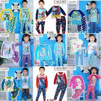 Retail / new 2014 girls frozen clothing set / boys superman clothes set / kids spiderman clothing set