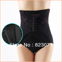 New 2013 High Waist Grenadine Tummy Control Body Shaper Briefs Slimming For Women Pants Knickers Trimmer Tuck