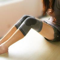 Free shipping \ hot charcoal warm kneepad \ bamboo fiber \ Far Infrared Knee \ thermal knee