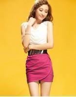 saia chiffon Summer women's 2013 sexy slim hip tight fitting plus size chiffon one-piece dress  saia shorts womens feminina