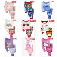 kids pajamas set ,100% cotton children sleepwear, boys  nightgown,christmas baby pjs Retail 1 set 2pcs  size 2T-7T