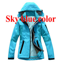 2013 Free shipping new 3 layers Top quality 2 in 1 Outdoor women's coat fashion twinset charge clothes jacket
