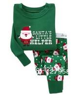 kids clothes children boys pajamas sets christmas pyjamas 100% cotton sleepwear nightgown ,children Christmas pajamas