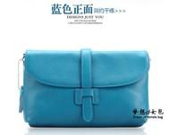 2013 women's genuine leather handbag casual tote bag fashion one shoulder  bag small messenger bag female leather handbags