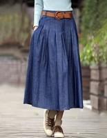 Pollera De Jeans short skirt denim bust summer fashion solid color women's step saia jeans saias largo femininas