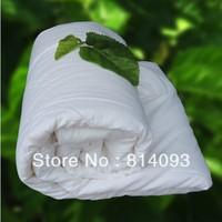Natural Mulberry Silk Filled Comforter Blanket 1.5kg filling 100% Cotton Cover OEM is OK 220*240cm
