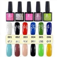 New 12pcs/lot SG UV Nail Gel Polish 192 Colors 10ml 0.35oz (Choose 12 Colors) drop shipping