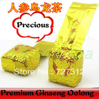 2014 new top chinese ginseng oolong tea oolong 250 grams a pack chinese milk green tea weight loss Health Tea Free shipping GIFT