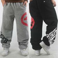 Men Sport Pants Baggy Cotton Winter Warm 3XL 2015 new sweatpants brand Rhino black/grey hip hop hiphop outdoor joggers trousers