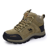 in stock 2014 New Men Hiking Shoes High-top Boots Outdoor Boots snow boot Climbing Shoes Warm winter boots men hot sale